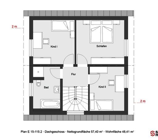 Schwörer - E 15-115.2 Floorplan 2