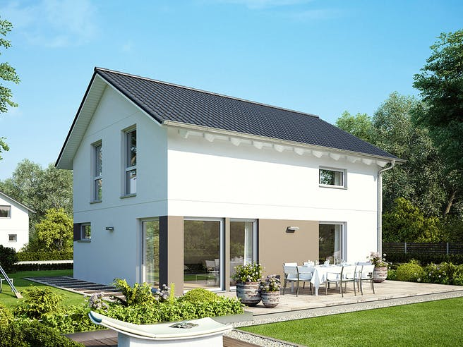 E 15-121.9 - Haus mit Satteldach von SchwörerHaus Außenansicht 1