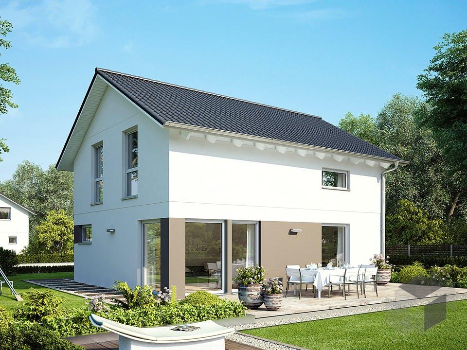 E 15-121.9 - Haus mit Satteldach von SchwörerHaus Außenansicht