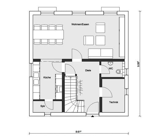 Schwörer - E15-124.3 Floorplan 1