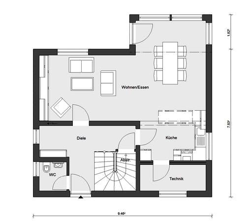 Schwörer - E15-127.12 Floorplan 1