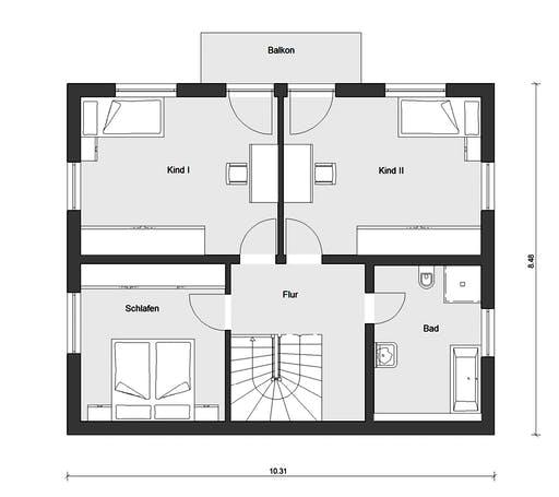 Schwörer - E15-127.12 Floorplan 2