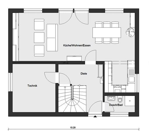 Schwörer - E15-143.29 Floorplan 1