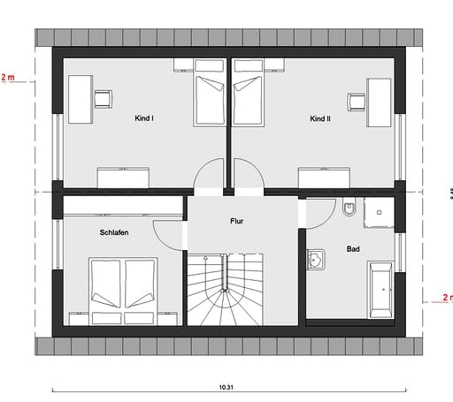 Schwörer - E15-143.29 Floorplan 2