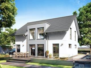 E 15-143.32 - Haus mit Flachdachgaube von SchwörerHaus Außenansicht 1