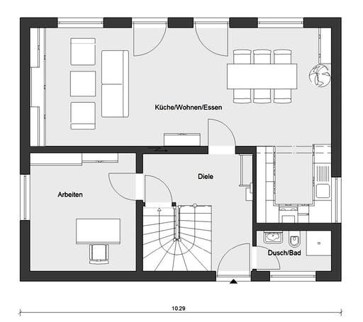 Schwörer - E15-143.32 Floorplan 1