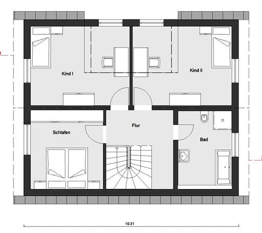 Schwörer - E15-143.32 Floorplan 2