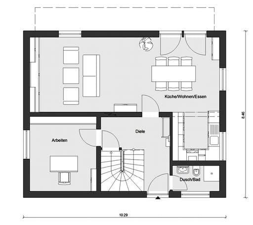 Schwörer - E15-143-33 Floorplan 1