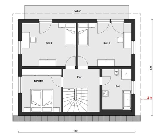 Schwörer - E15-143-33 Floorplan 2