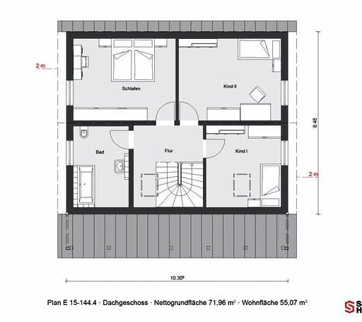 Schwörer - E15-144.4 Floorplan 2