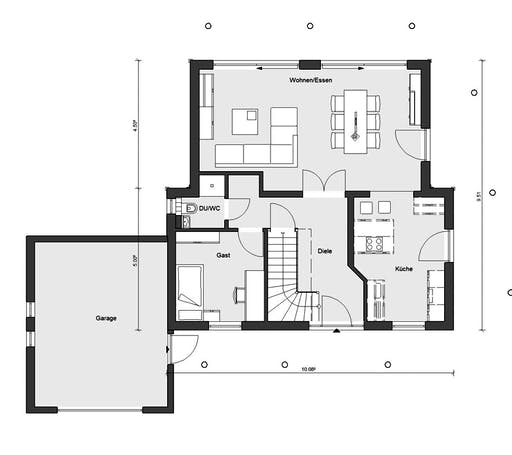 Schwörer - E15-146.3 Floorplan 1