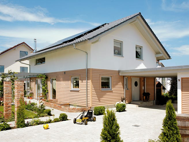 E 15-147.3 - Einfamilienhaus mit Terrasse von SchwörerHaus Außenansicht 1