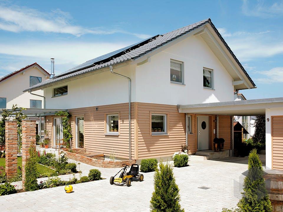 E 15-147.3 - Einfamilienhaus mit Terrasse von SchwörerHaus Außenansicht