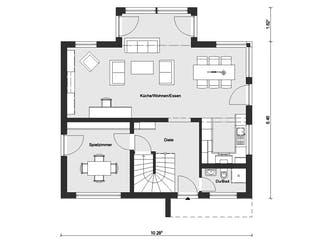 E 15-149.10 - Individuell geplantes Aktionshaus von SchwörerHaus Grundriss 1