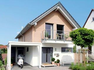 E 15-150.2 - Schmales Hauskonzept von SchwörerHaus Außenansicht 1
