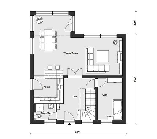 Schwörer - E15-153.1 Floorplan 1