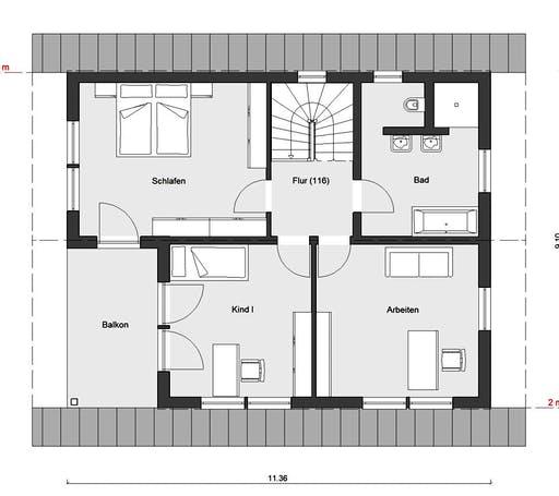 Schwörer - E15-153.2 Floorplan 2