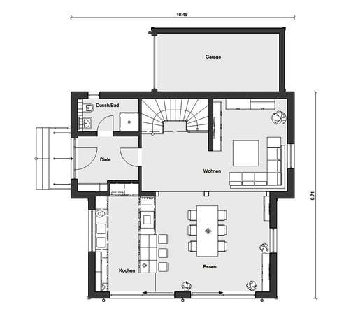 Schwörer - E15-154.1 Floorplan 1