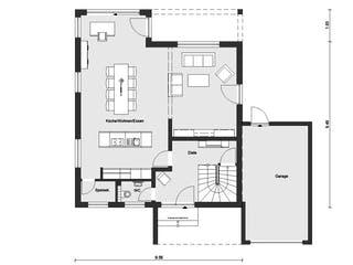 E 15-158.3 - Modernes Satteldachhaus von SchwörerHaus Grundriss 1
