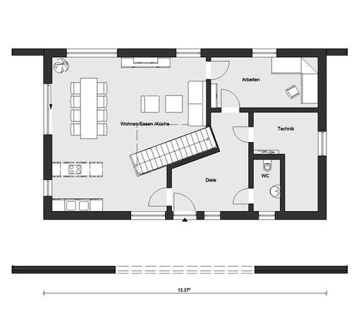 Schwörer - E15-170.1 Floorplan 1