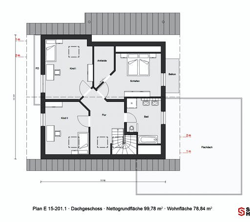 Schwörer - E15-201.1 Floorplan 2
