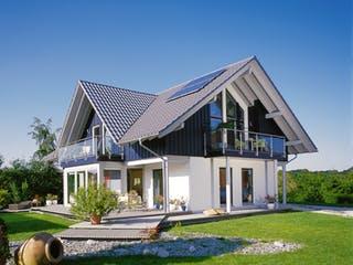 E 15-205.1 - Haus mit Wintergarten von SchwörerHaus Außenansicht 1