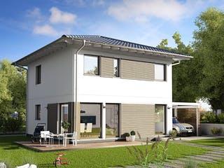 E 20-108.4 - Stadtvilla von SchwörerHaus Außenansicht 1