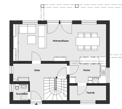 Schwörer - E20-120.4 Floorplan 1