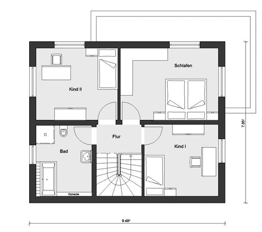 Schwörer - E20-120.4 Floorplan 2