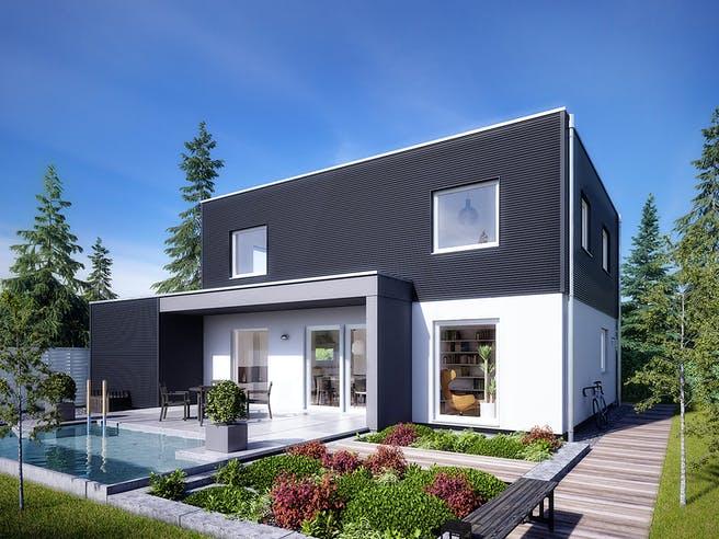 E 20-144.6 - Moderner Bauhausstil von SchwörerHaus Außenansicht 1