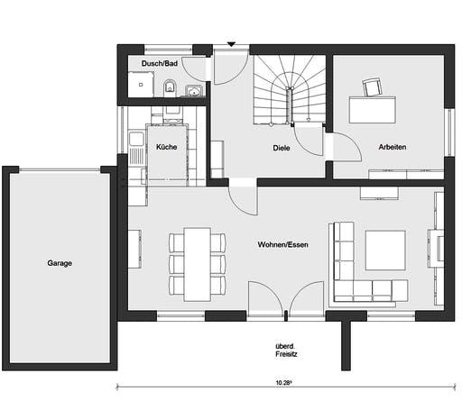 Schwörer - E20-144.6 - Floorplan 1