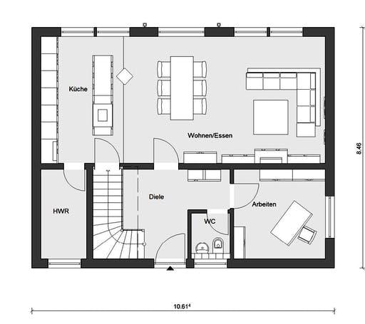 Schwörer - E20-148.4 Floorplan 1