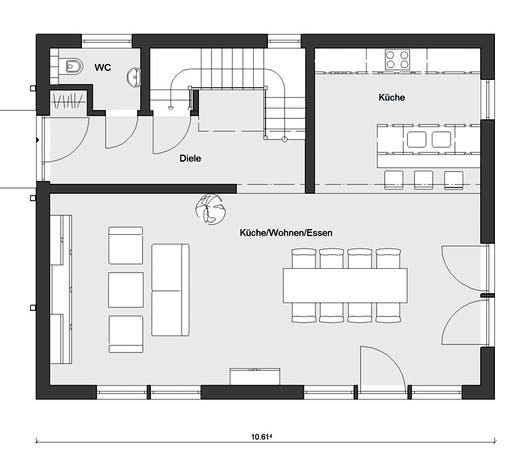 Schwörer - E20-148.6 Floorplan 1
