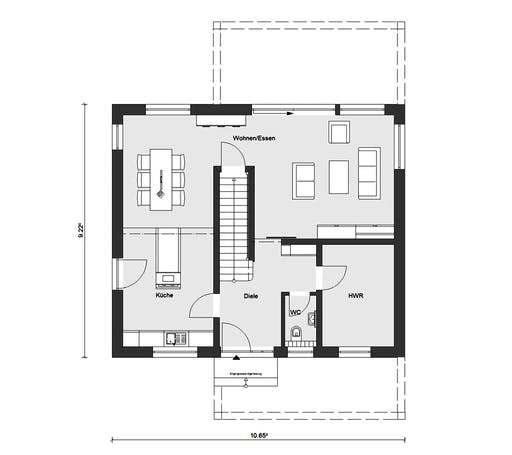 Schwörer - E20-156.5 Floorplan 1