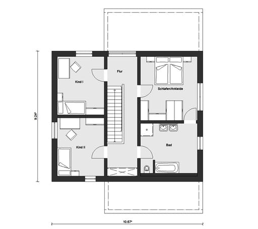 Schwörer - E20-156.5 Floorplan 2