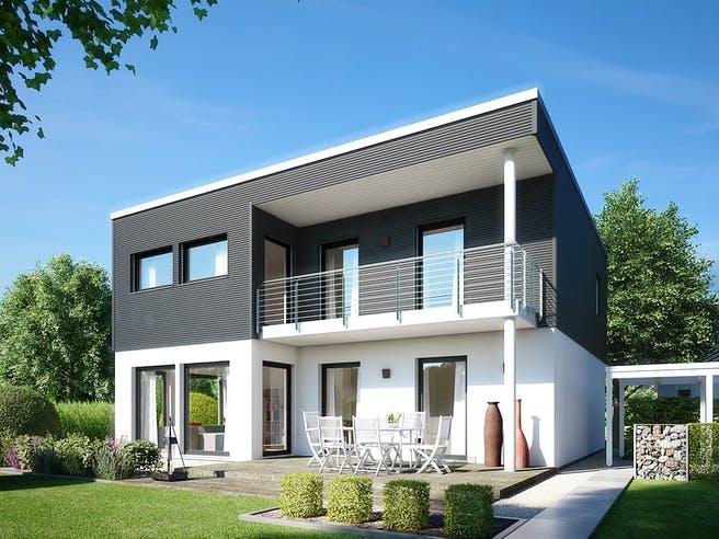 E 20-159.5 - Haus Kubus von SchwörerHaus Außenansicht 1