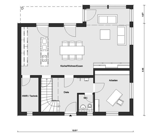 Schwörer - E20-159.5 Floorplan 1
