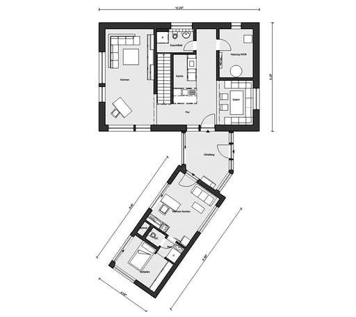 Schwörer - E20-161.2 Floorplan 1
