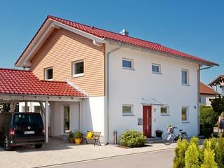 E 20-164.3 - Haus mit Erker-Balkon von SchwörerHaus Außenansicht 1