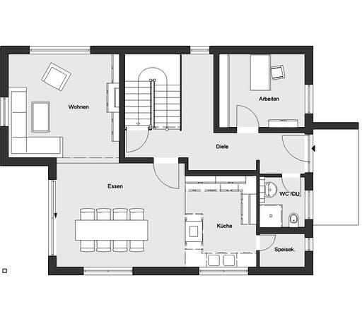 Schwörer - E20-172.2 Floorplan 1