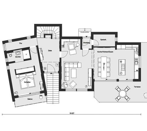 Schwörer - E20-172.4 Floorplan 1