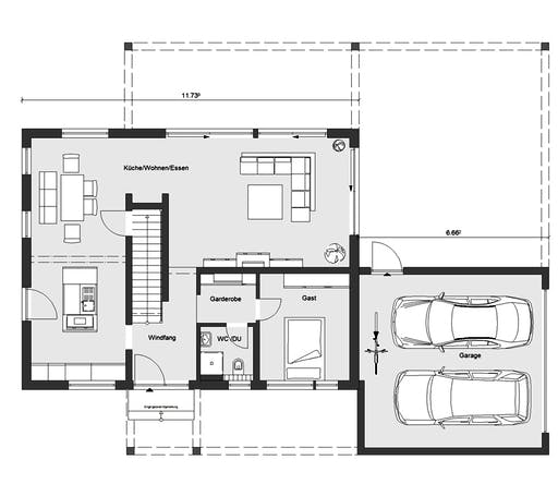 Schwörer - E20-176.2 Floorplan 1