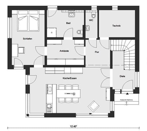 Schwörer - E20-189.3 Floorplan 1