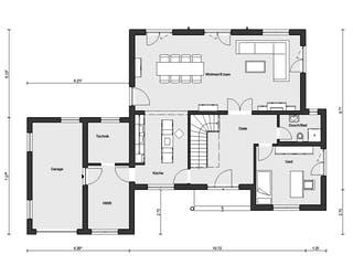 E 20-201.1 - Französischer Landhausstil von SchwörerHaus Grundriss 1