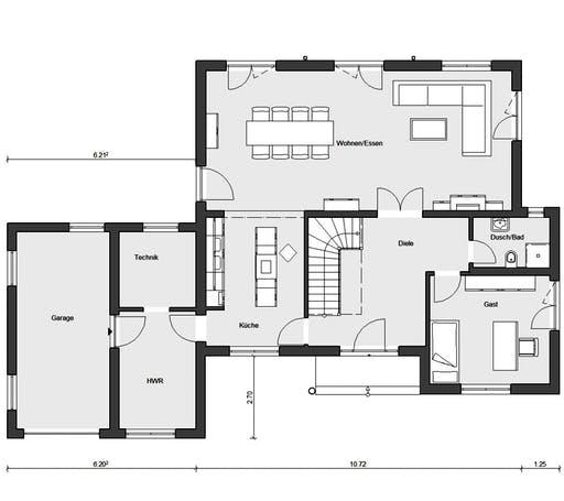 Schwörer - E20-201.1 Floorplan 1