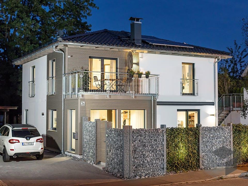 E 20-163.2 - Nachhaltige Stadtvilla von SchwörerHaus - Österreich Außenansicht