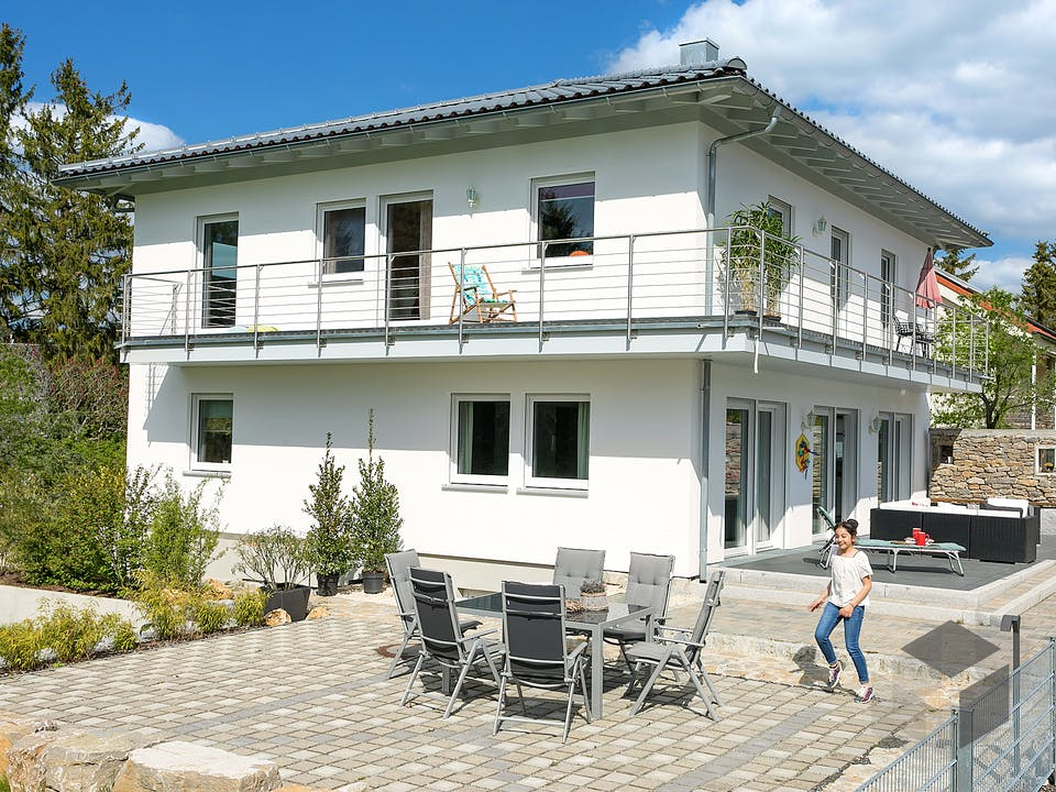 E 20-189.4 - Individuelle Stadtvilla nach eigenem Wunsch von SchwörerHaus - Österreich Außenansicht