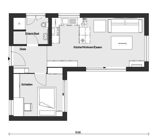 Schwörer - F10-049.9 Floorplan 1