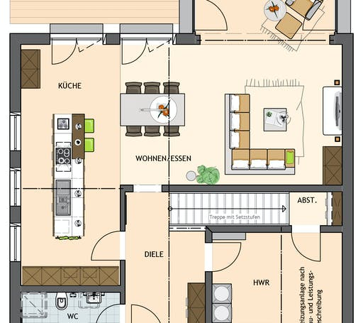 Sento 401 Floorplan 1