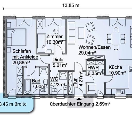 SH 100 B Var. B Floorplan 1